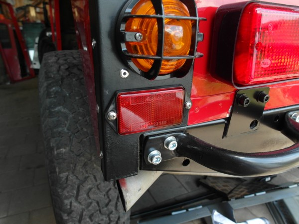 Reflektor hinten Defender Land Rover, xff100070