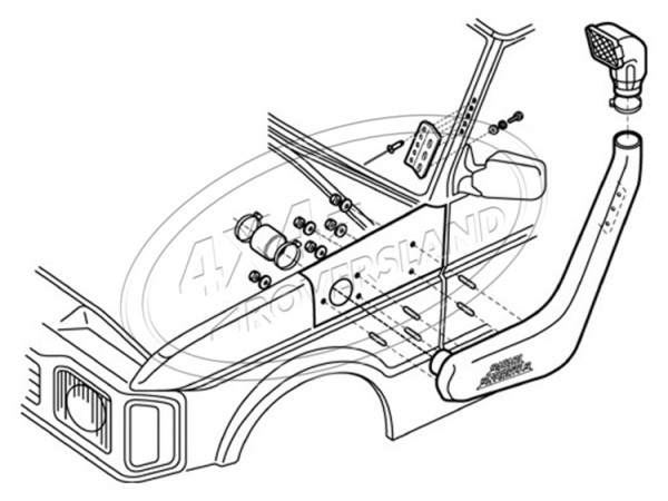 Schnorchel 300/V8