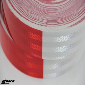 Reflektorband rot weiss 10 m