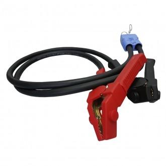 Seilwinden Kabelsatz 1m 50mm2 Starthilfeadapter mit Stecker und Batterieklemme