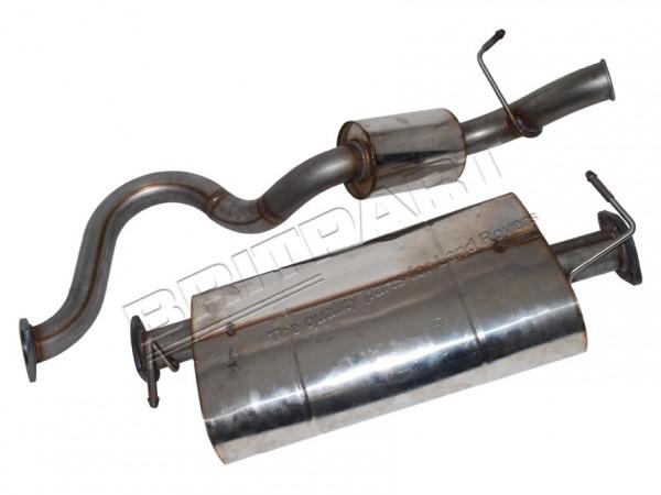 Abgasanlage Edelstahl DEFENDER 90 2.5 TD5