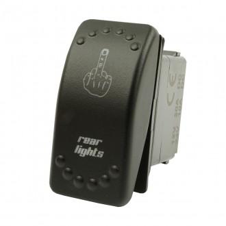 Wippenschalter Rear Lights horntools Offroad Switch Wipp Schalter mit LED Beleuchtung horntools Rock