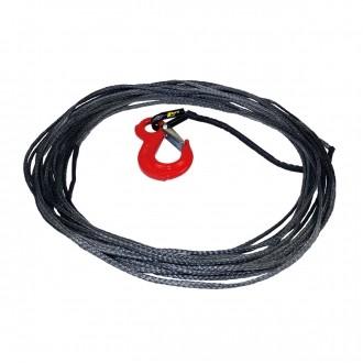 hornrope 4mm 50m 1400 kg Kunststoffseil für Seilwinden Kunstfaserseil Offroad