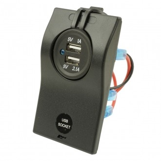 Wippenschalter USB Stecker Inlet horntools Offroad Switch Rocker Wipp Schalter