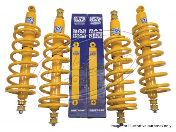 Super Gas Fahrwerk +40mm LIGHT DUTY