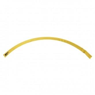 Schrumpfschlauch 1m für Kabelschuh 25mm2 gelb