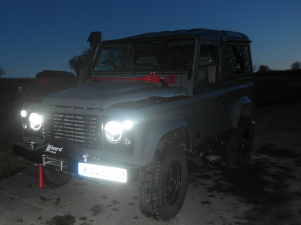 LED Beleuchtung Hauptscheinwerfer Defender,Range Rover Classic, Discovery, Land Rover
