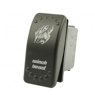 Wippenschalter WINCH BOOST horntools Offroad Switch Wipp Schalter mit LED Beleuchtung horntools Rock