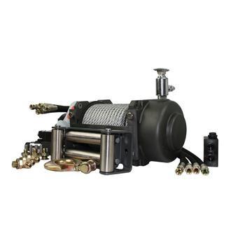 Seilwinde 6,8to Zeta 15.0 hydraulisch mit 12V Steuerung horn