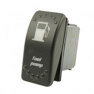 Wippenschalter Fuel Pump horntools Offroad Switch Wipp Schalter mit LED Beleuchtung horntools Rocker