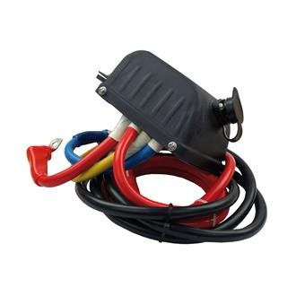 Seilwinden Steuerbox Metall HSW9500/Q 12V Relais horn Elektrowinde Kontaktor