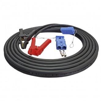 Seilwinden Kabelsatz 7m 35mm2 mobil mit Stecker und Batterieklemme