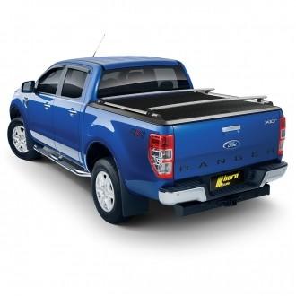 Ford Ranger Dbl-Cab 2011- Ladeflächenabdeckung Alu schwarz