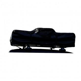 Dachzelt Abdeckung 140cm schwarz ohne Aufschrift für Dachzelt 140cm mit Reissverschluss