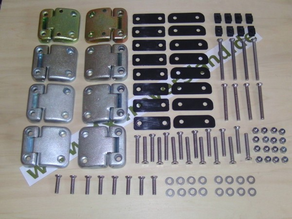 Türscharnier Kit Defender/Serie 4türer, Land Rover, Türscharniersatz