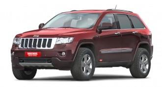 JEEP® Grand Cherokee Typ WK Höherlegungs Federsatz TREKFINDER für JEEP® Grand Cherokee WK + 30 Milli