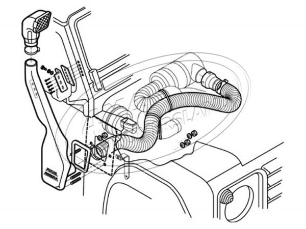 Schnorchel V8 84-94