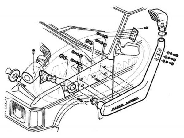 Schnorchel V8 90-94
