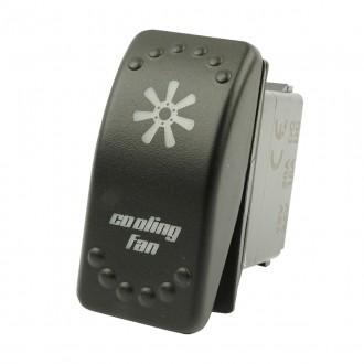 Wippenschalter Cooling Fans horntools Offroad Switch Wipp Schalter mit LED Beleuchtung horntools Roc