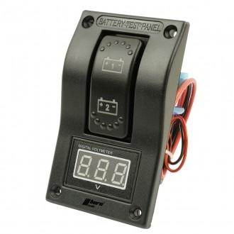 Wippenschalter Batterie Tester für 2 Batterien horntools Offroad Switch Wipp Schalter Rocker Switch