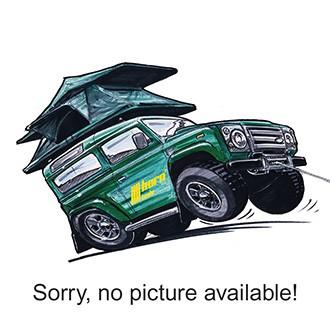 Toyota Hilux Revo Dbl-Cab 2016- Ladeflächenabdeckung Alu schwarz