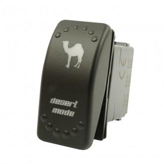 Wippenschalter DESERT MODE Fans horntools Offroad Switch Wipp Schalter mit LED Beleuchtung horntools