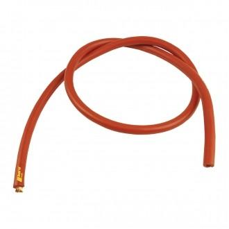 Kupferkabel Meterware 10 mm2 100 cm rot