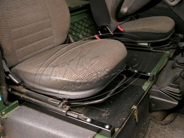 Sitzschienenverlängerung Land Rover Defender