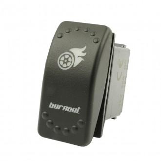 Wippenschalter BURNOUT horntools Offroad Switch Wipp Schalter mit LED Beleuchtung horntools Rocker S