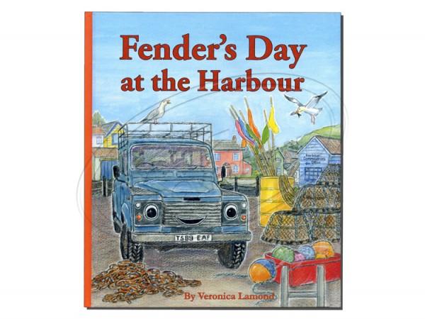 Fender`s Tag am Hafen, in Englisch, Defender Land Rover