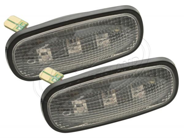 LED Seitenblinker klar, Defender ab TD5 Land Rover da8530