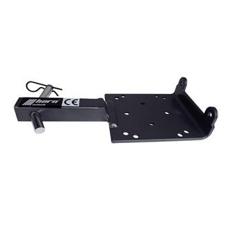 Seilwinden Montageplatte Mobil Serie 2500-3500 AHK 1 Zoll 4k