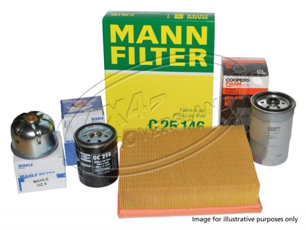 Filterkit Discovery 1 Land Rover, Range Rover Classic.