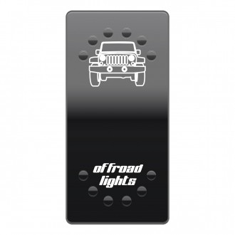 Wippenschalter OFF-ROAD Lights horntools Offroad Switch Wipp Schalter mit LED Beleuchtung horntools