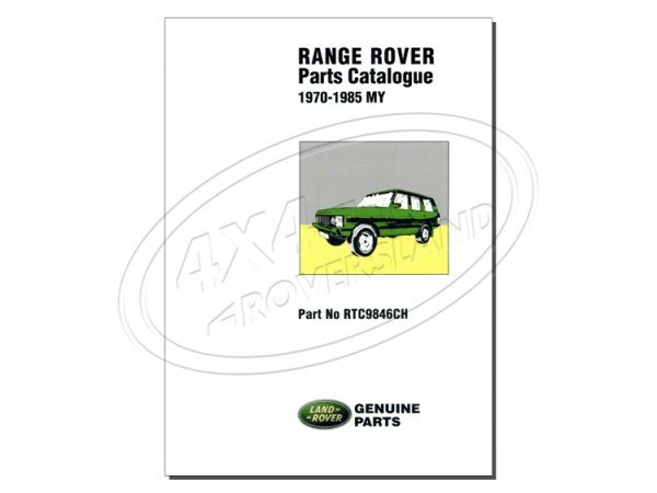 Teilekatalog Range Rover Classic 1970-1985