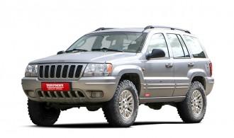 JEEP® Grand Cherokee Typ WJ/WG Höherlegungssatz TREKFINDER für JEEP® Grand Cherokee WJ/WG mit BILSTE