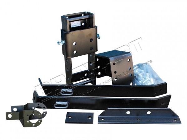 Höhenverstellbare AHK für Defender 110 u. 130 HCPU