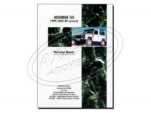 Werkstatthandbuch Land Rover Defender TD 5
