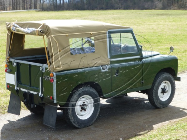 Verdeck Serie 3 Sand Land Rover