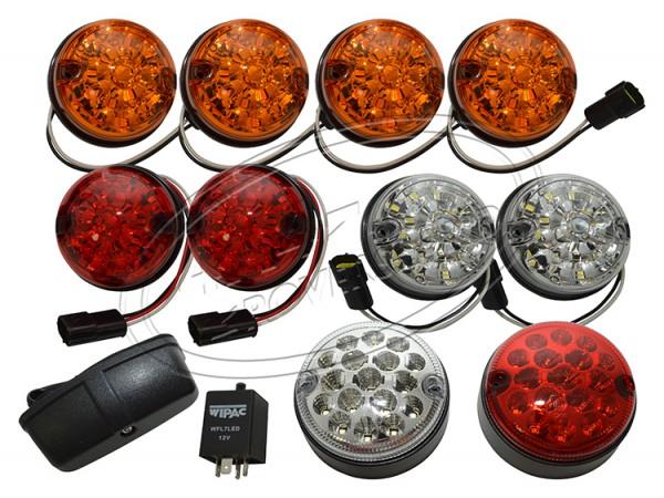 LED 10teiliger Leuchtensatz für den Defender Land Rover, Neu im Programm