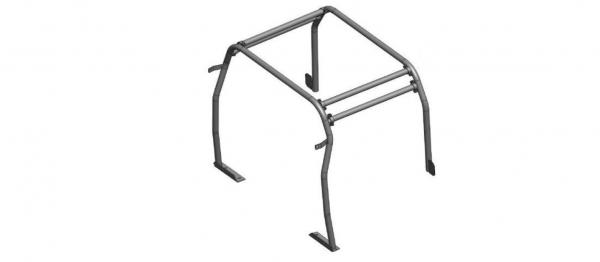 4 Punkt interner Heck-Überrollbügel für Defender 110 TD4