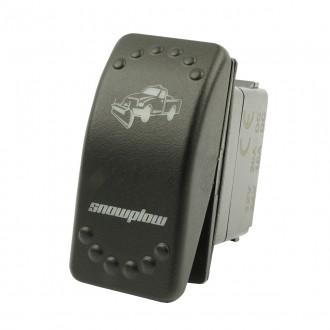 Wippenschalter SNOWPLOW horntools Offroad Switch Wipp Schalter mit LED Beleuchtung horntools Rocker