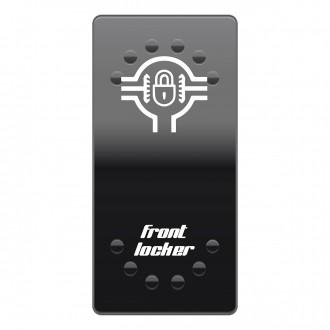 Wippenschalter Cover Front Diff Lock horntools Offroad Switch Wipp Schalter Laserbeschriftet für Hin
